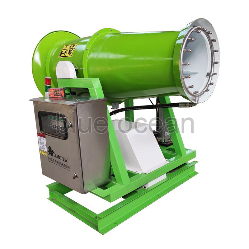 What is the Use Environment of the Dust Removal Fog Gun Machine?