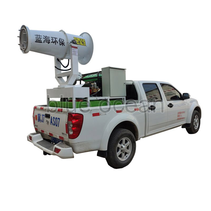 What is the Method to Improve the Dust Reduction Rate of the Long-Range Mist Sprayer?